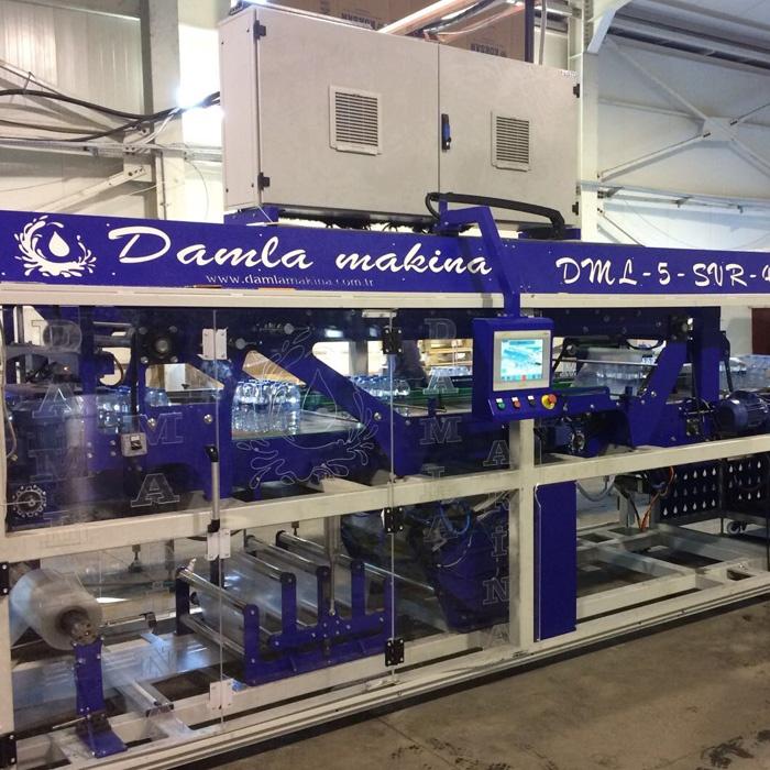 damla endüstriyel paketleme makinası