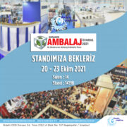 Avrasya Ambalaj Fuarı İstanbul 2021